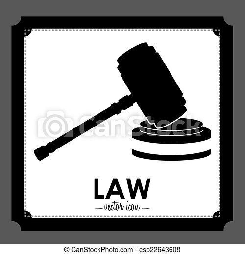 法律, デザイン - csp22643608