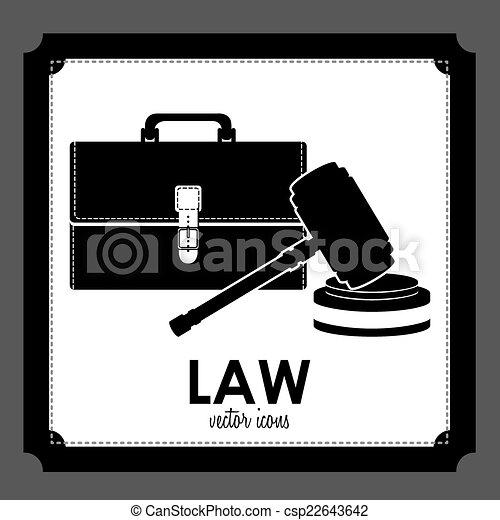 法律, デザイン - csp22643642