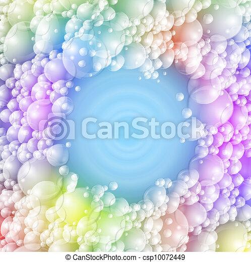 泡, カラフルである - csp10072449