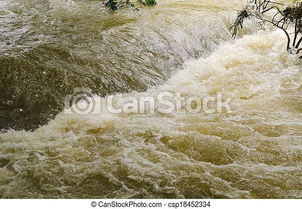 洪水, フラッシュ - csp18452334