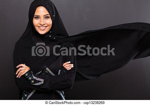 流行, 女, muslim - csp13238269