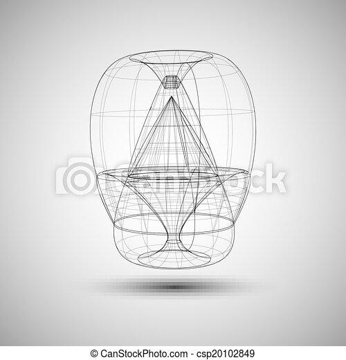 流行, 抽象的, 技術 - csp20102849