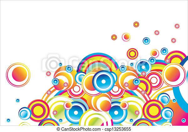 流行, 泡, 背景 - csp13253655