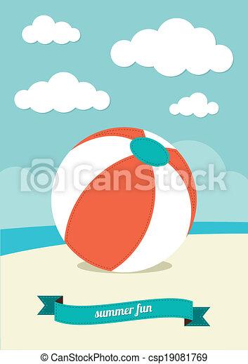浜 球, 砂 - csp19081769