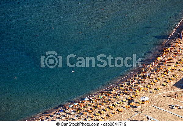浜, 空中写真 - csp0841719