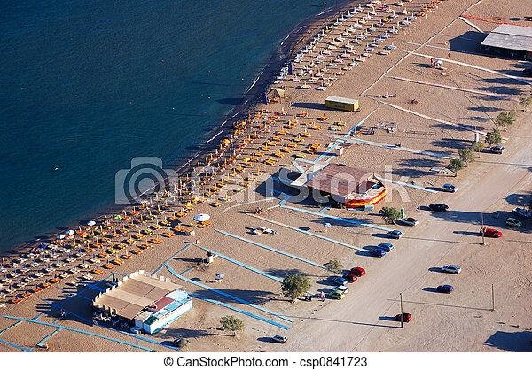 浜, 空中写真 - csp0841723
