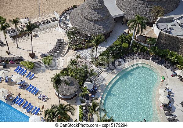 海灣, acapulco, 墨西哥 - csp15173294
