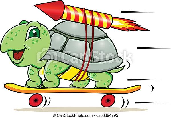 海龜, 火箭 - csp8394795