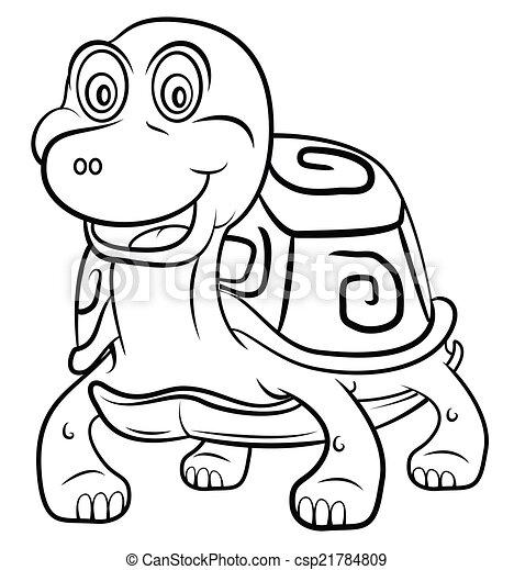 海龟, 卡通漫画矢量