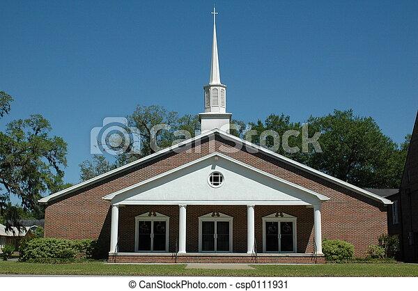 浸禮會教友, 教堂 - csp0111931