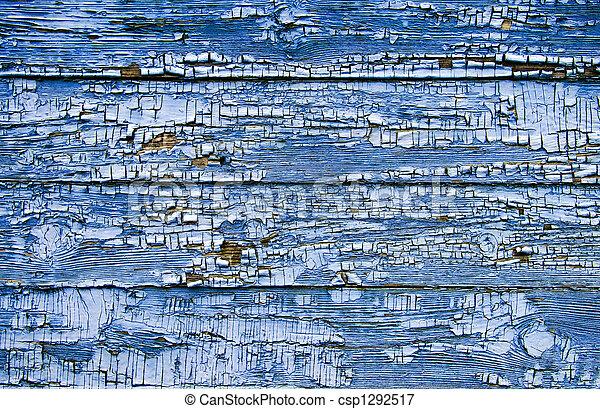 涂描, 老, 树木, -wall, 结构 - csp1292517