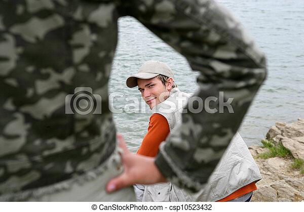 湖捕魚 - csp10523432