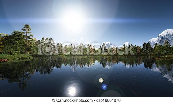 湖 - csp16864070