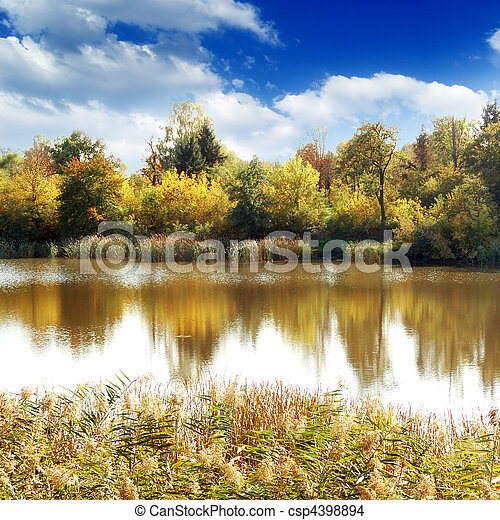 湖 - csp4398894