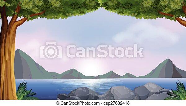 湖 - csp27632418