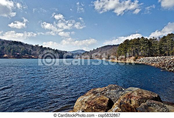 湖, 光景 - csp5832867
