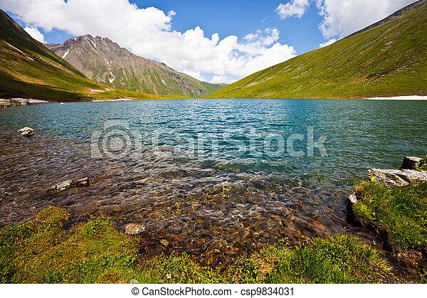 湖 - csp9834031