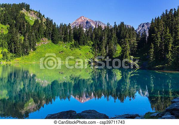 湖, twin - csp39711743