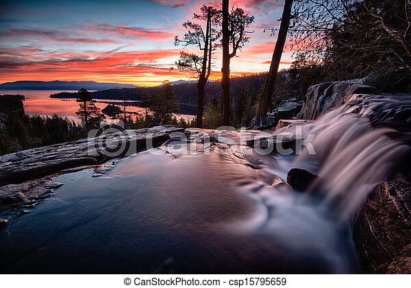 湖tahoe - csp15795659