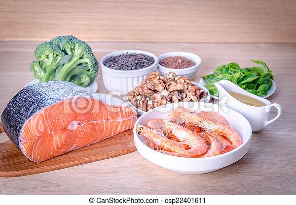 源, plant-based, 酸, 動物, omega-3 - csp22401611