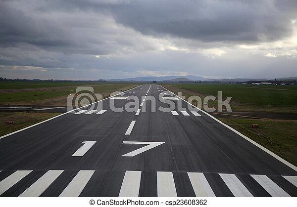 滑走路, 嵐である - csp23608362