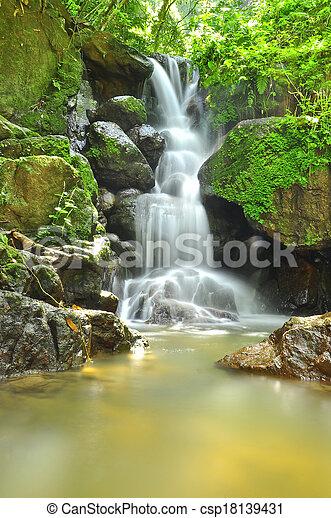 滝 - csp18139431