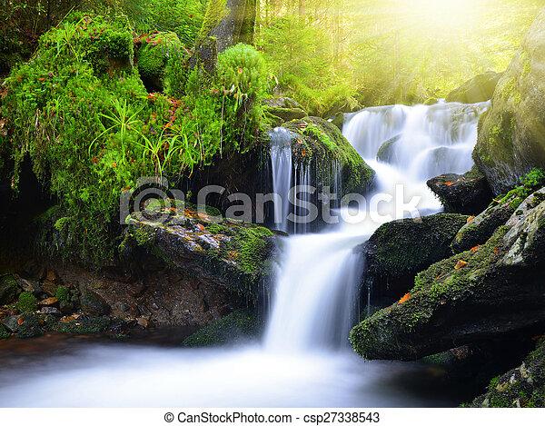 滝 - csp27338543