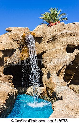 滝, プール - csp15456755