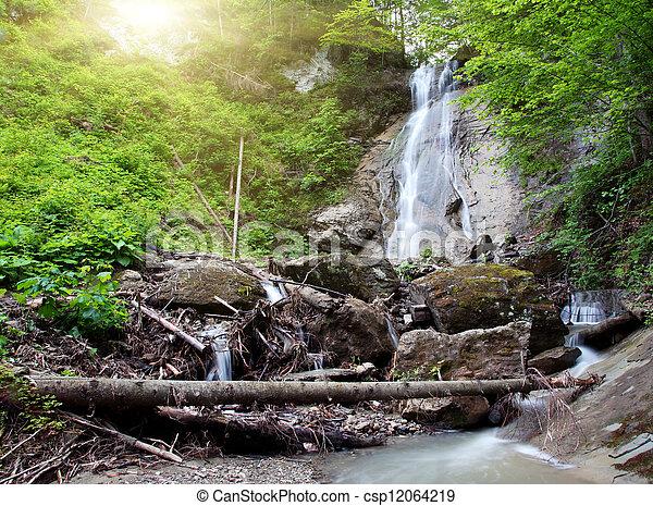 滝 - csp12064219
