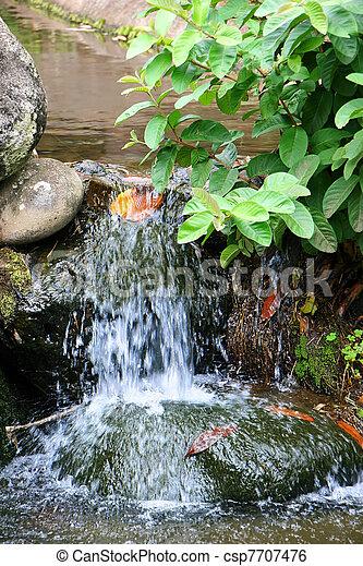 滝, 小さい - csp7707476