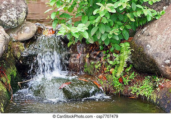 滝, 小さい - csp7707479