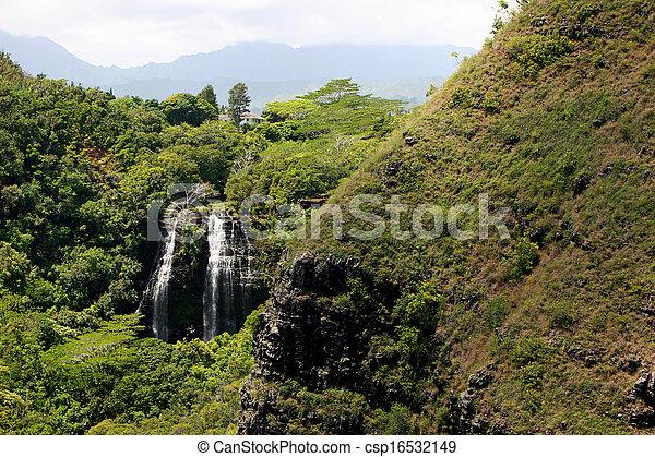 滝, 山 - csp16532149