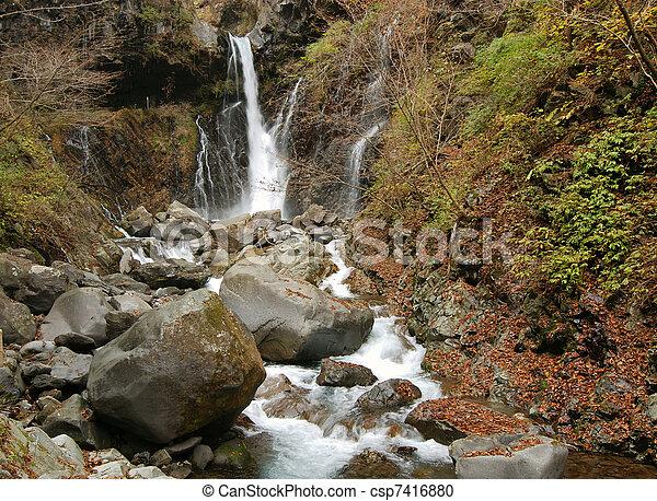 滝, 日本語 - csp7416880