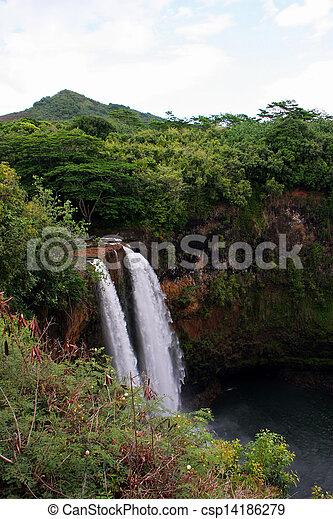 滝, wailua - csp14186279