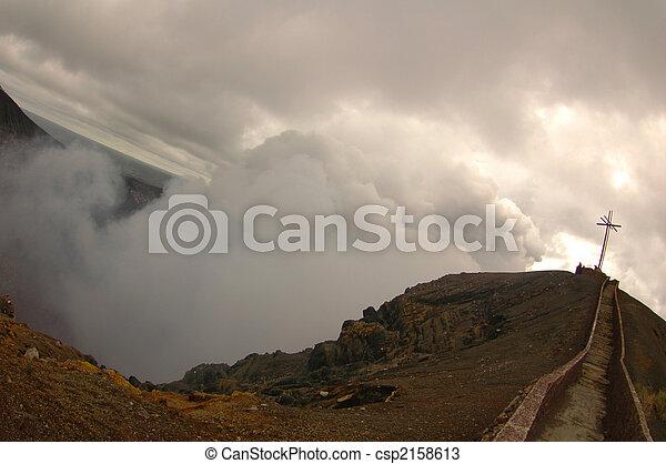 火山, masaya, ニカラグア - csp2158613