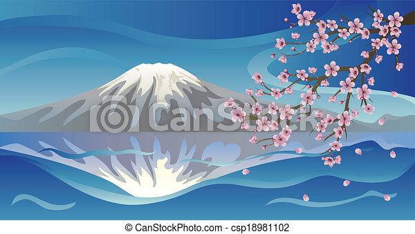 火山, sakura, ブランチ - csp18981102