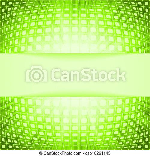 火炎信号, eps, burst., 緑, 8, 正方形, 技術 - csp10261145