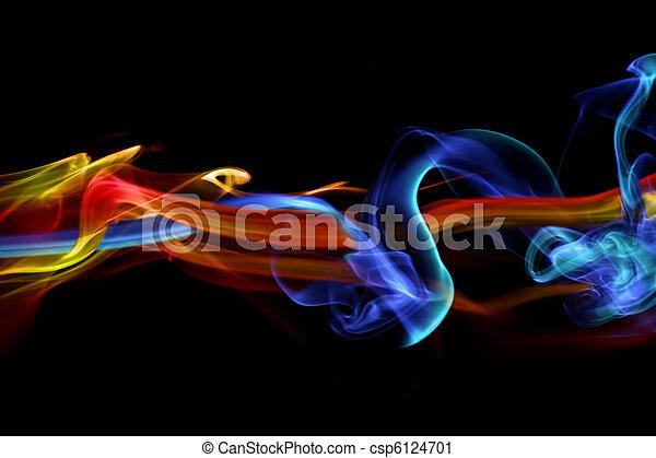 火, デザイン, 氷, & - csp6124701