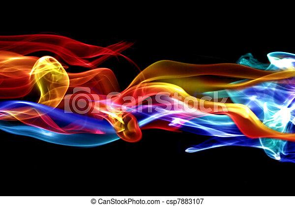 火, デザイン, 氷, & - csp7883107