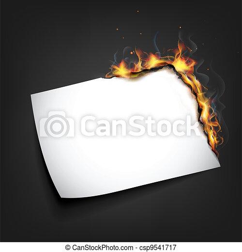 火, ペーパー - csp9541717
