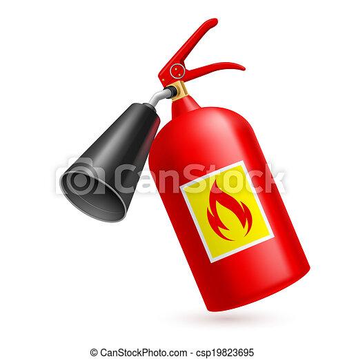 火 消火器 - csp19823695