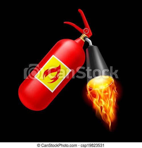 火 消火器 - csp19823531