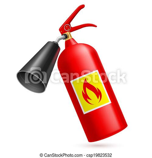 火 消火器 - csp19823532