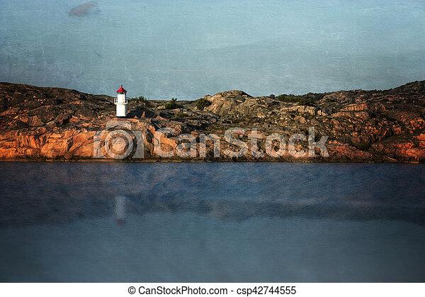 灯台, 芸術 - csp42744555
