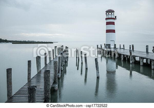 灯台, 雨 - csp17722522