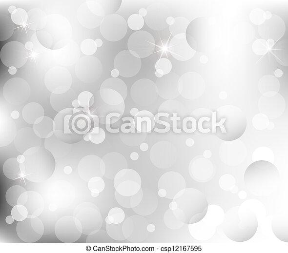 灰色, 抽象的, 背中, 銀, ライト - csp12167595
