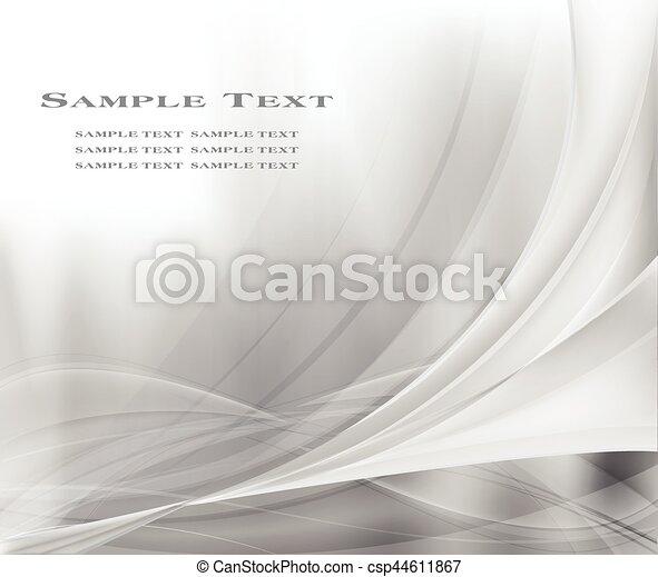 灰色, 抽象的, 背景 - csp44611867