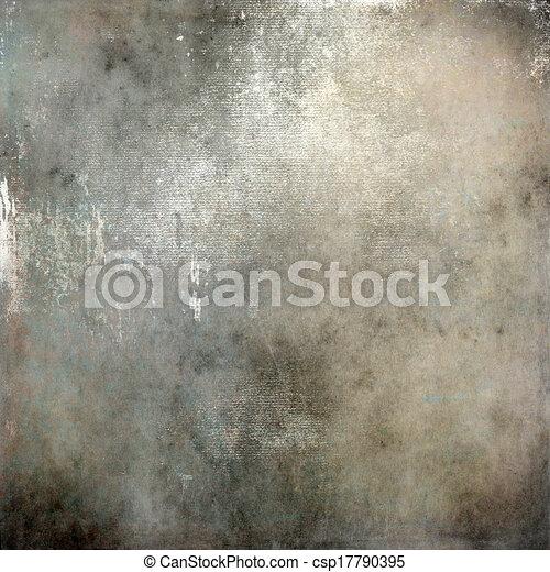 灰色, 抽象的, 背景, 手ざわり - csp17790395
