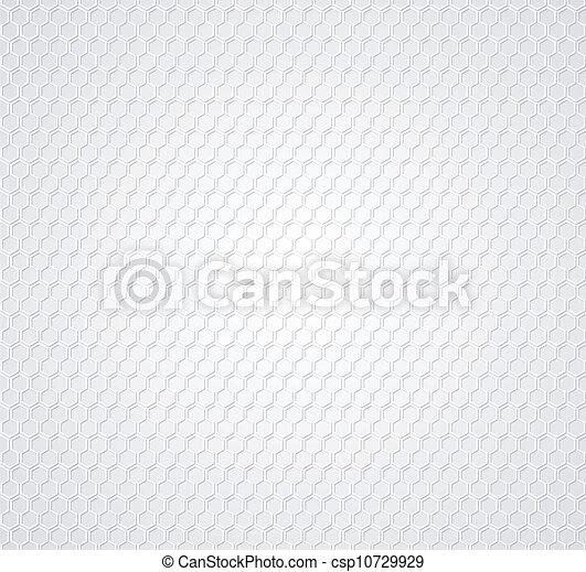 灰色, 白い背景, ハチの巣 - csp10729929