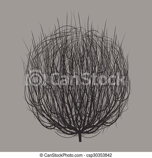 灰色, tumbleweed - csp30353842